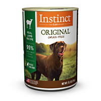 Nature's Variety Instinct Grain-Free Canned Dog Food, Lamb