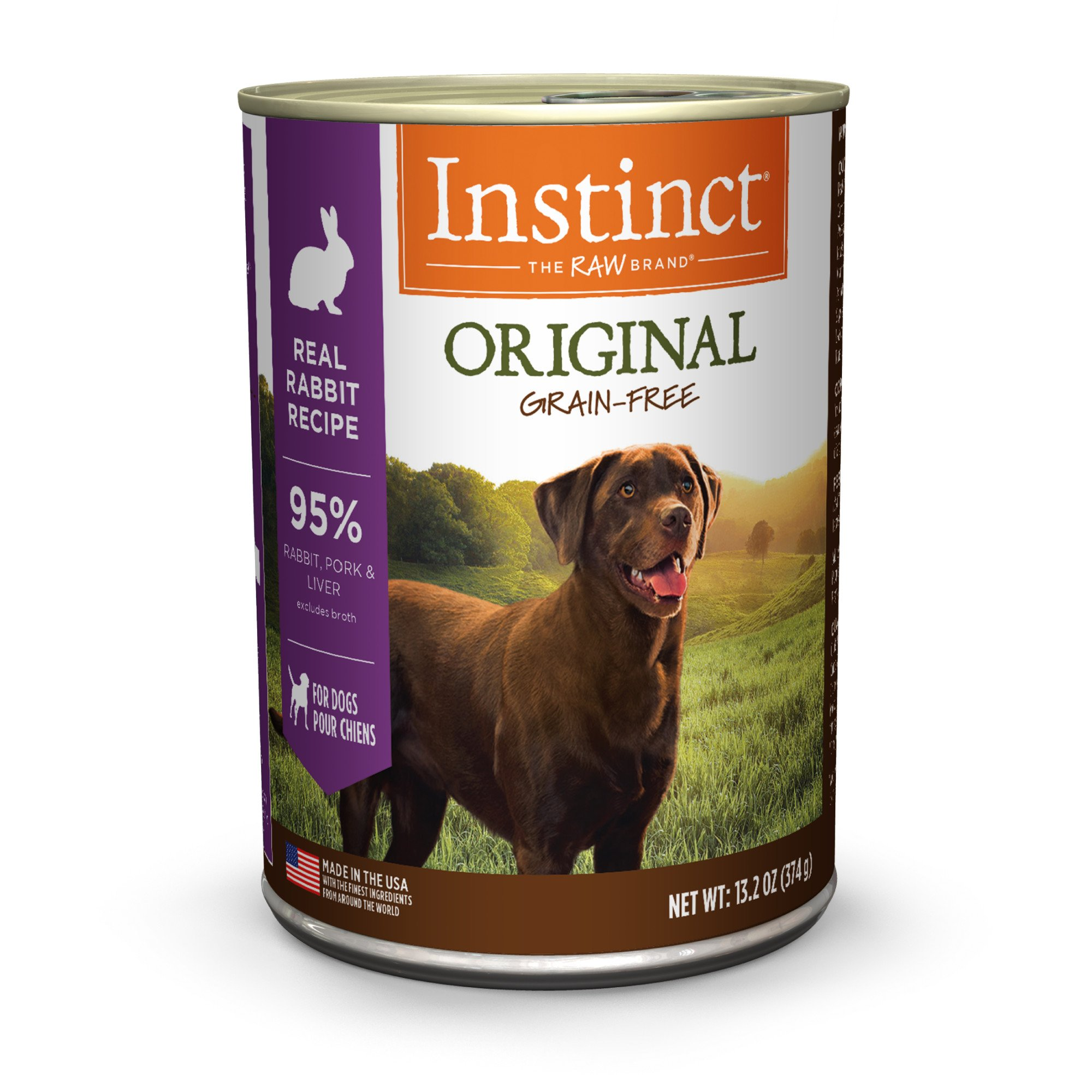 Nature's Variety Instinct Grain-Free Rabbit Canned Dog Food