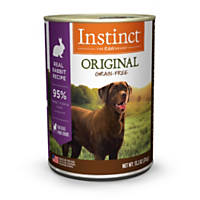Nature's Variety Instinct Grain-Free Rabbit Canned Dog Food