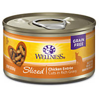 Wellness Sliced Canned Cuts Chicken Adult Canned Cat Food