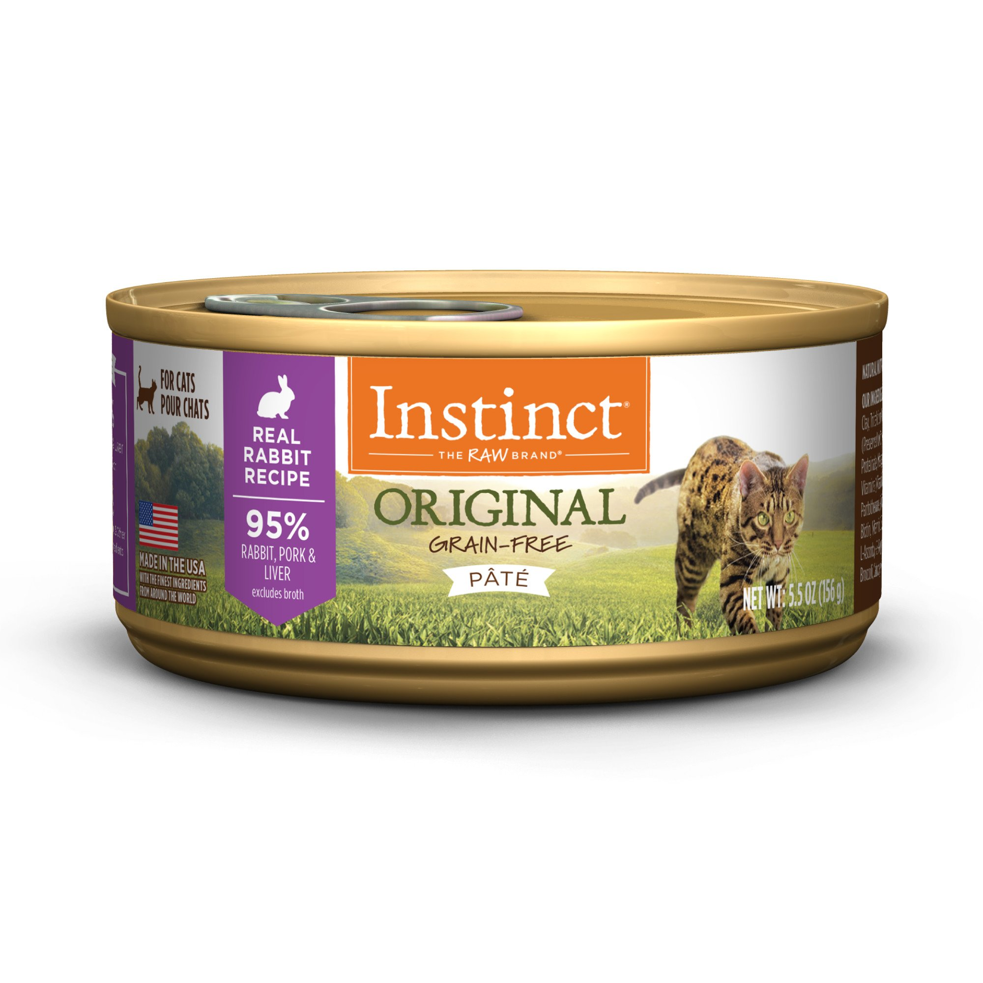 Instinct Canned Cat Food Rabbit