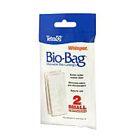 Tetra Whisper Bio-Bag Disposable Filter Cartridges, Small, Pack of 2 cartridges