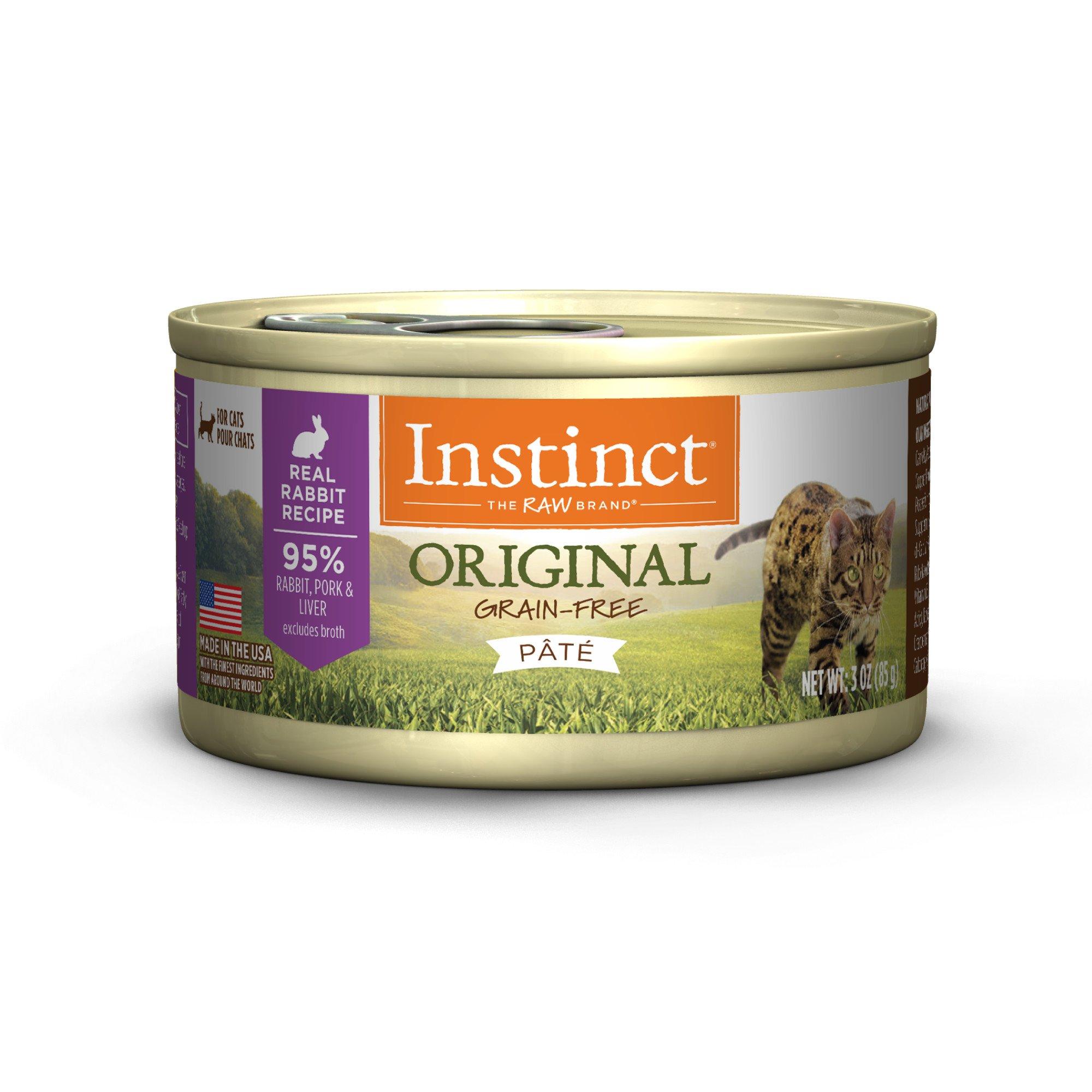 Nature's Variety Instinct Grain-Free Rabbit Canned Cat Food