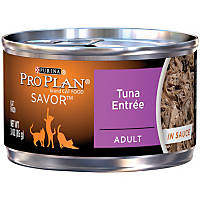 Pro Plan Savor Tuna Adult Canned Cat Food in Sauce