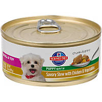 Hill's Science Diet Savory Stew with Chicken & Vegetables Small & Toy Canned Puppy Food