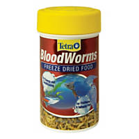 Tetra Blood Worms Freeze Dried Treat