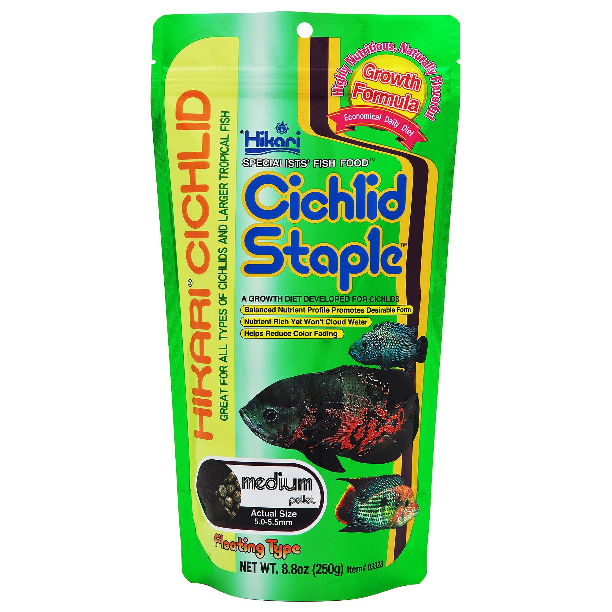 Hikari Cichlid Staple Medium Pellets
