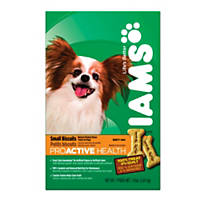 Iams Proactive Health Adult Small Dog Chicken Flavor Biscuits