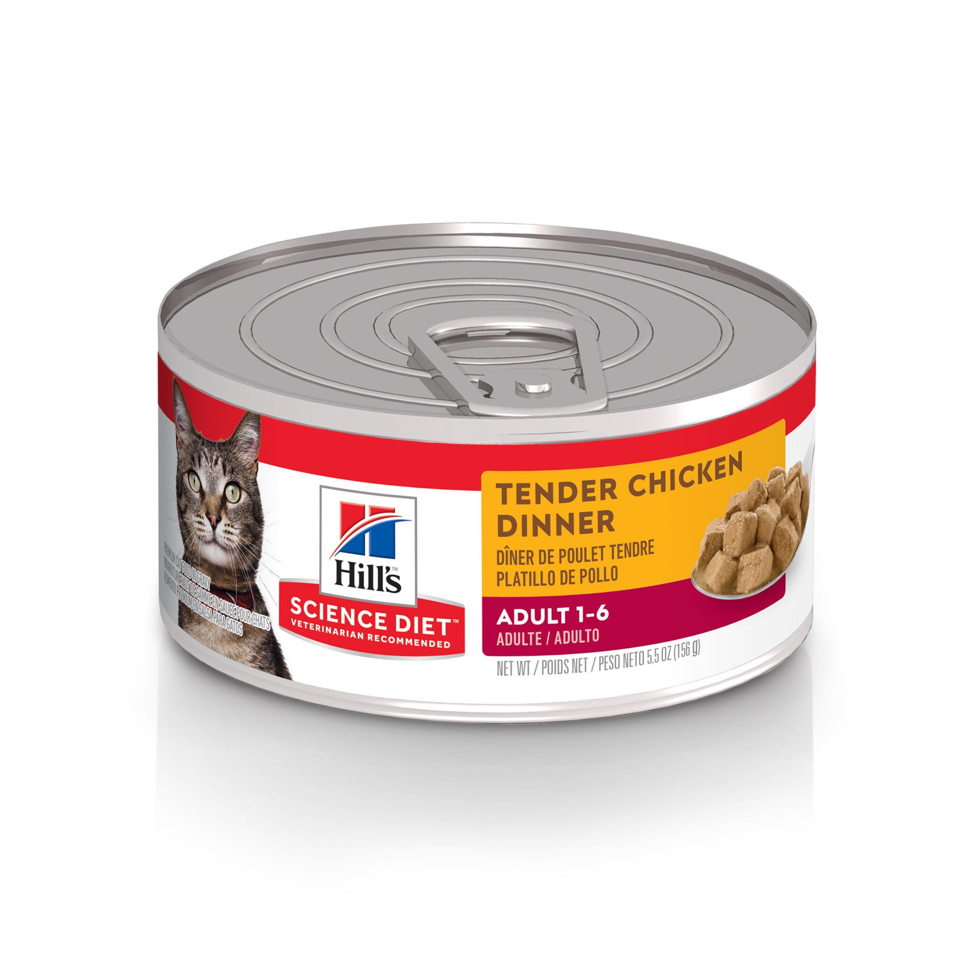 Hill's Science Diet Tender Chicken Dinner Adult Canned Cat Food