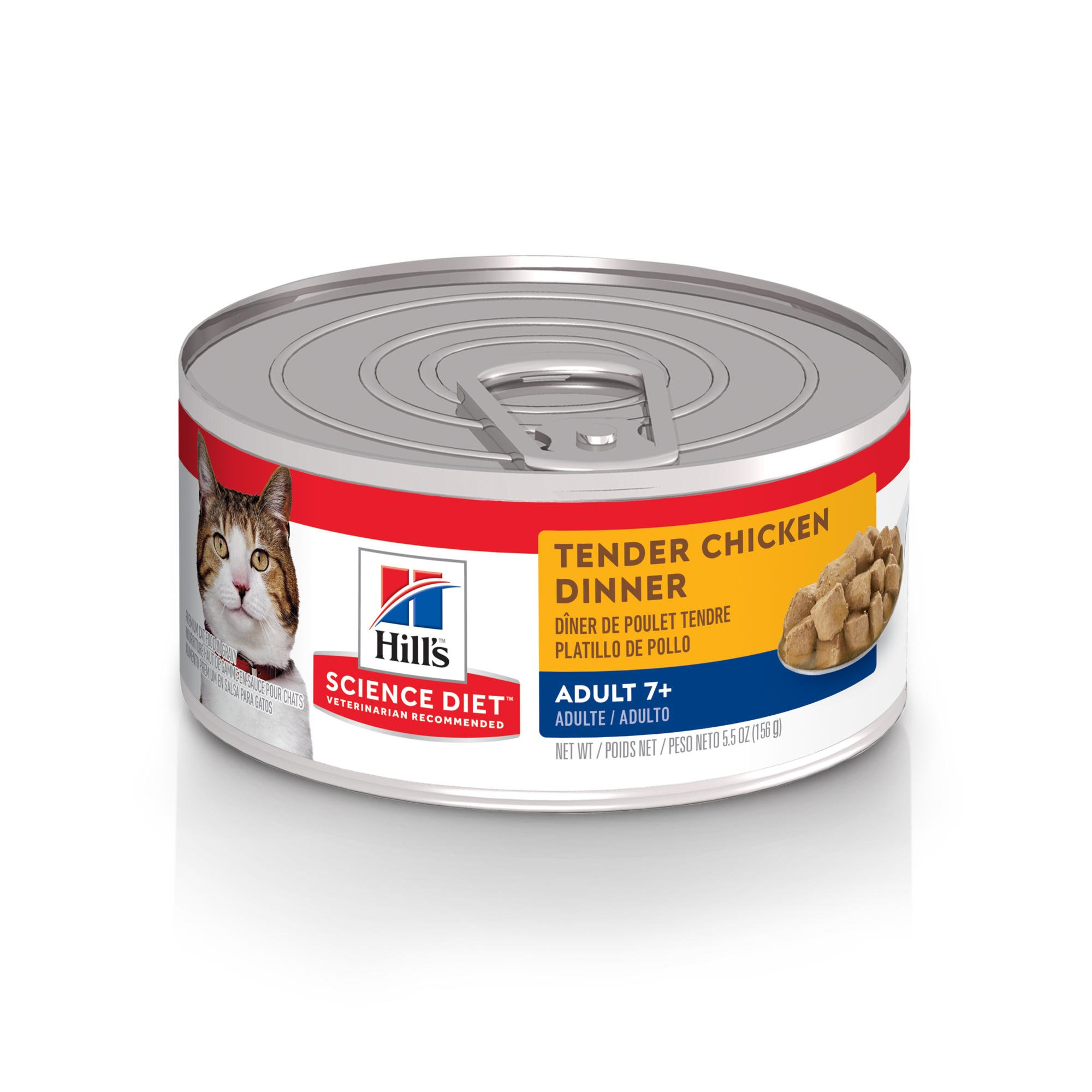 Hill's Science Diet Tender Chicken Dinner Senior Adult Canned Cat Food