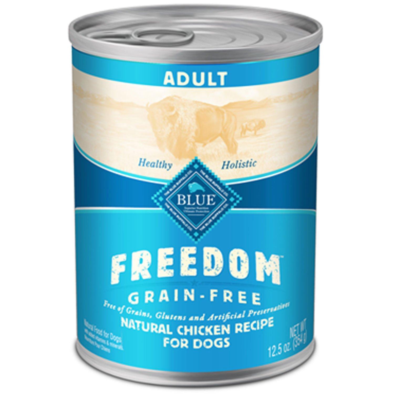 Blue Buffalo Freedom Grain Free Chicken Recipe Adult Canned Dog Food