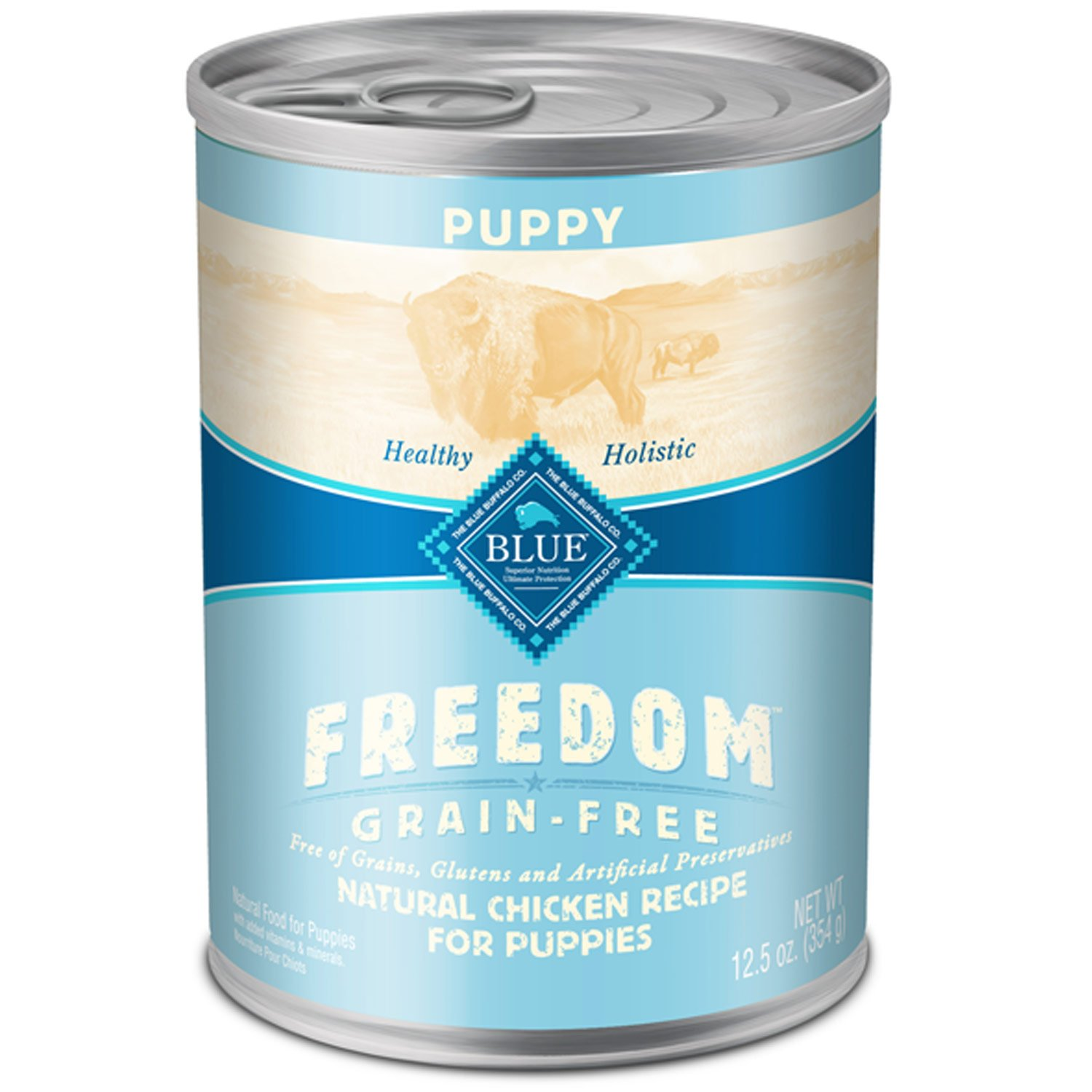 Blue Buffalo Freedom Grain Free Chicken Recipe Canned Puppy Food