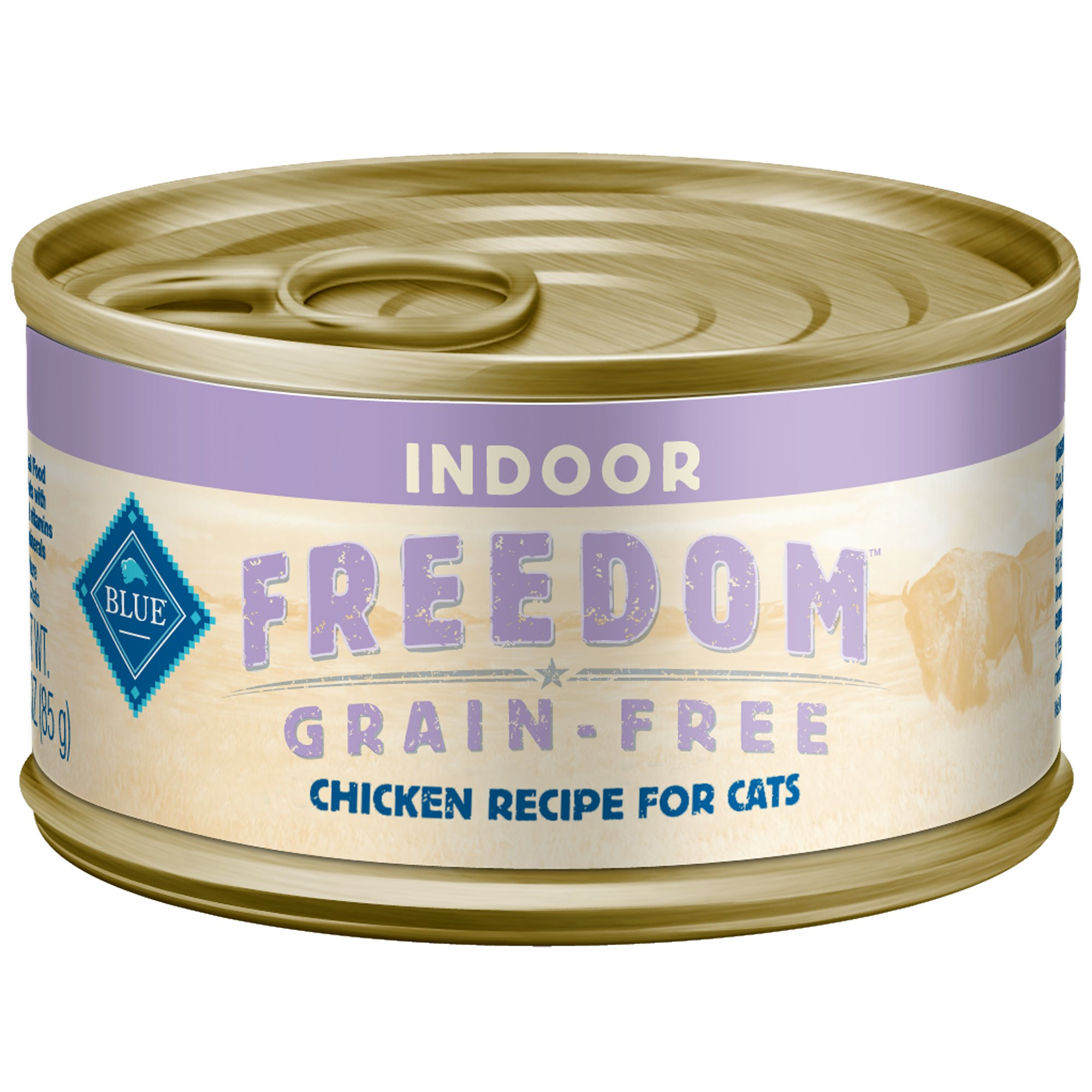 Blue Buffalo Freedom Grain Free Indoor Chicken Recipe Adult Canned Cat Food