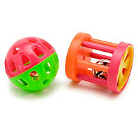 Petco Ferret Fun Ball & Wagon Wheel