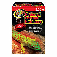 Zoo Med Nocturnal Infrared Heat Lamp, 100 Watts