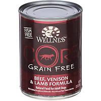 Wellness CORE Beef, Venison & Lamb Formula Canned Dog Food
