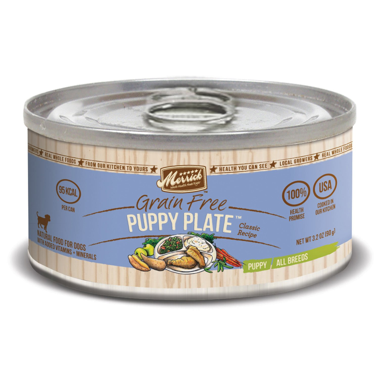 Merrick Classic Grain Free Puppy Plate Canned Puppy Food