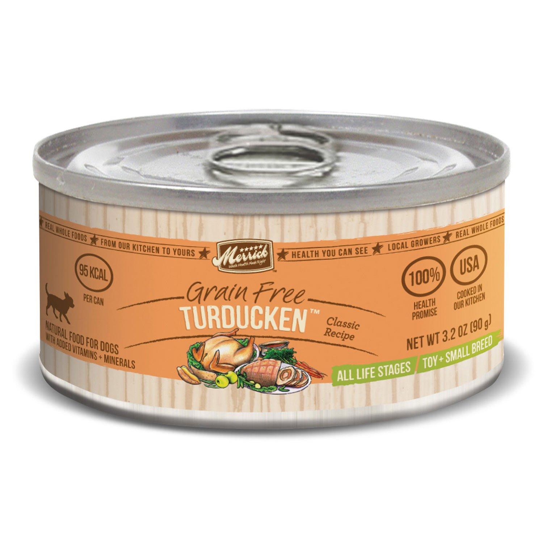 Merrick Classic Grain Free Small Breed Turducken Canned Dog Food