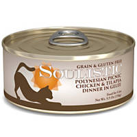 Soulistic Polynesian Picnic Chicken & Tilapia Dinner Adult Canned Cat Food in Gelee