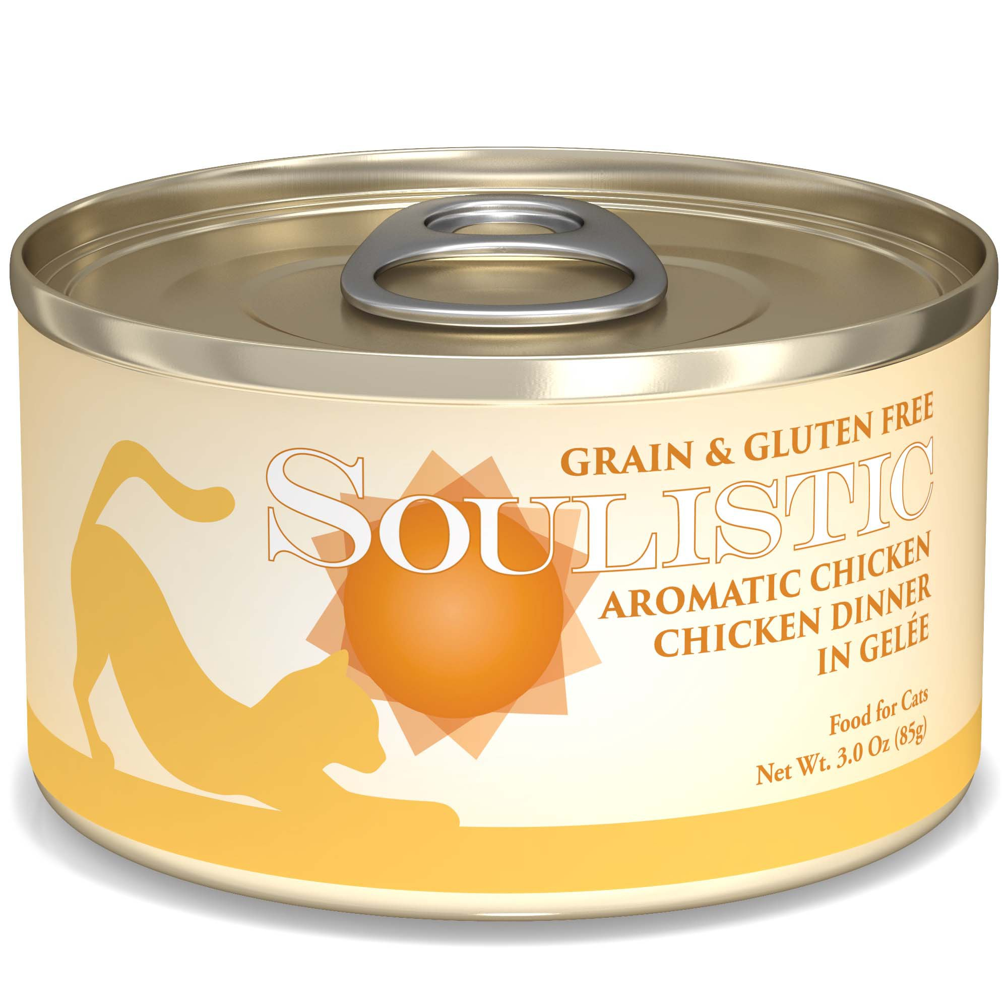 Soulistic Aromatic Chicken Chicken Dinner Adult Canned Cat