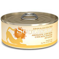 Soulistic Aromatic Chicken Chicken Dinner Adult Canned Cat Food in Gelee