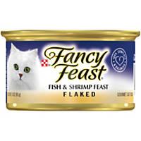 Fancy Feast Flaked Fish & Shrimp Feast Gourmet Cat Food