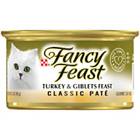 Fancy Feast Turkey & Giblets Feast Gourmet Cat Food
