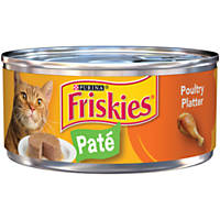 Friskies Classic Pate Canned Cat Food, Chicken & Turkey