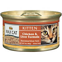 Nutro MAX CAT Chicken & Liver Formula Canned Kitten Food