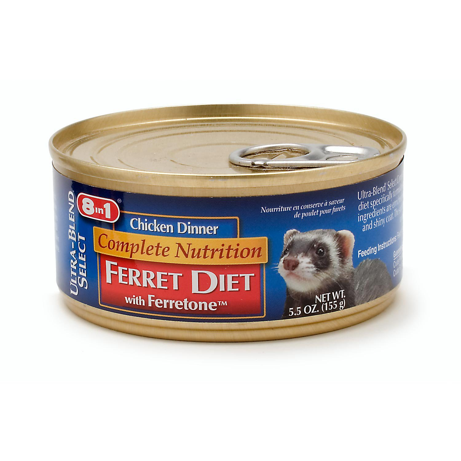 8 in 1 Complete Nutrition Ferret Diet