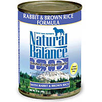 Natural Balance Limited Ingredient Diets Rabbit & Brown Rice Formula Canned Dog Food