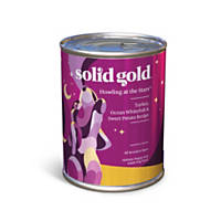Solid Gold Canned Formula Dog Food, Turkey, Ocean Fish, Carrots & Sweet Potatoes