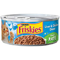 Friskies Liver & Chicken Dinner Canned Cat Food