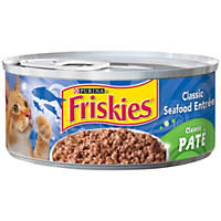 Friskies Classic Seafood Canned Cat Food