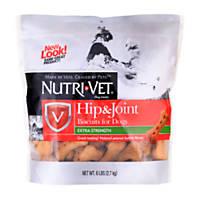Nutri-Vet Hip & Joint Glucosamine Peanut Butter Dog Biscuits