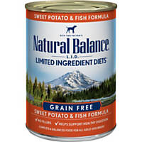 Natural Balance Limited Ingredient Diets Sweet Potatoes & Fish Canned Dog Food, Case of 12