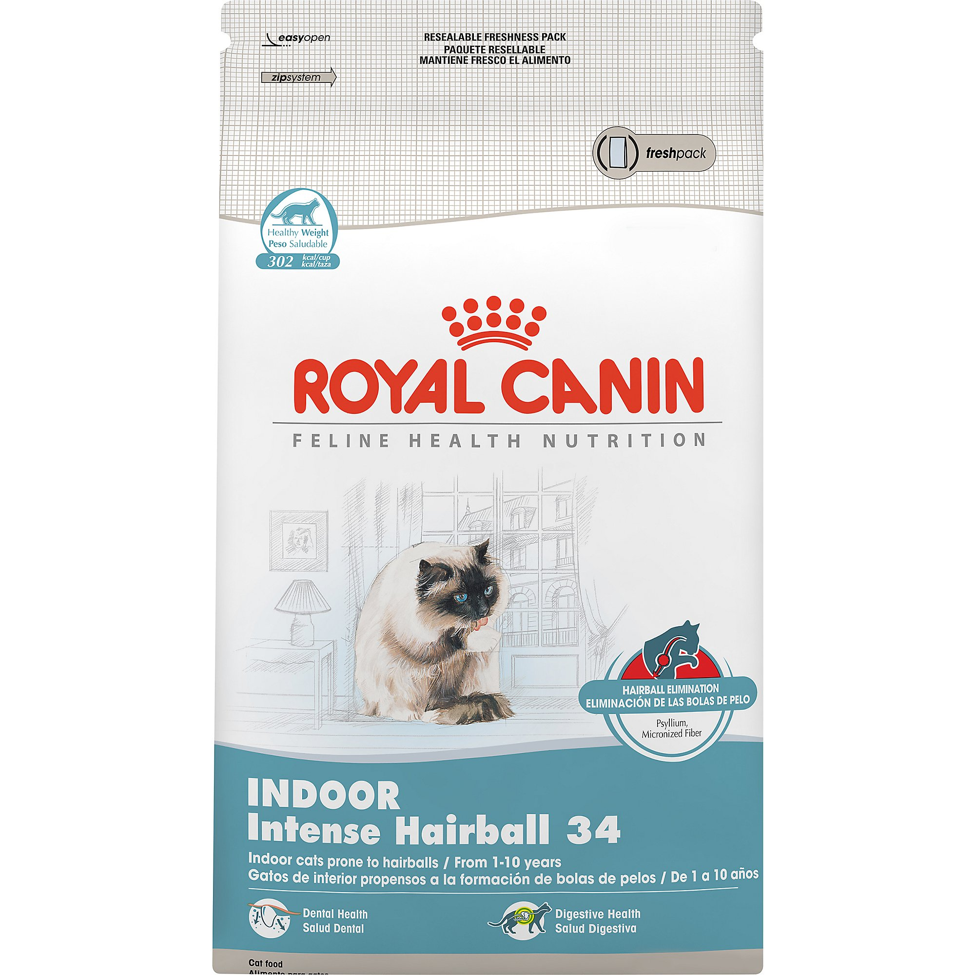 royal canin feline health nutrition indoor intense hairball 34 petco store. Black Bedroom Furniture Sets. Home Design Ideas