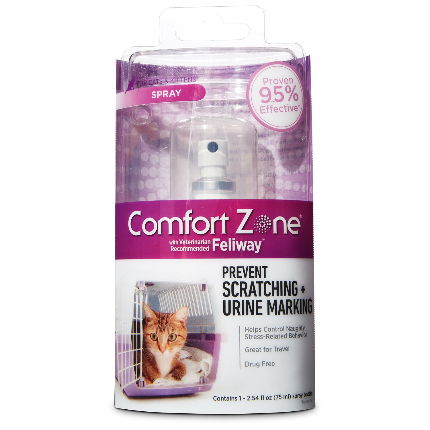 Comfort Zone Spray with Feliway for Cats