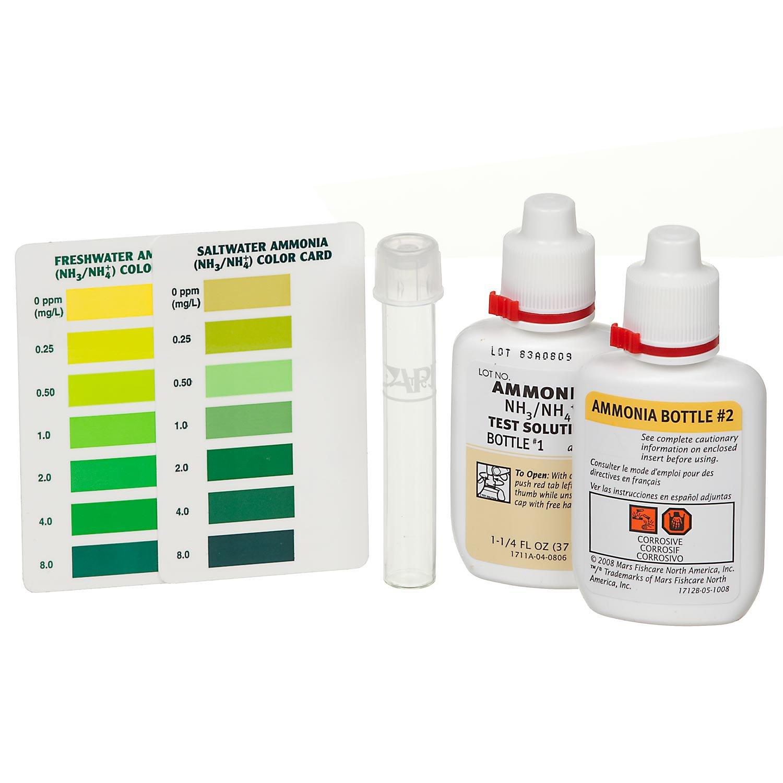 API Freshwater/Saltwater Ammonia Test Kit