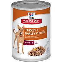 Hill's Science Diet Adult Gourmet Turkey Entree Canned Dog Food