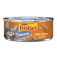 Friskies Shredded Chicken Canned Cat Food in Gravy