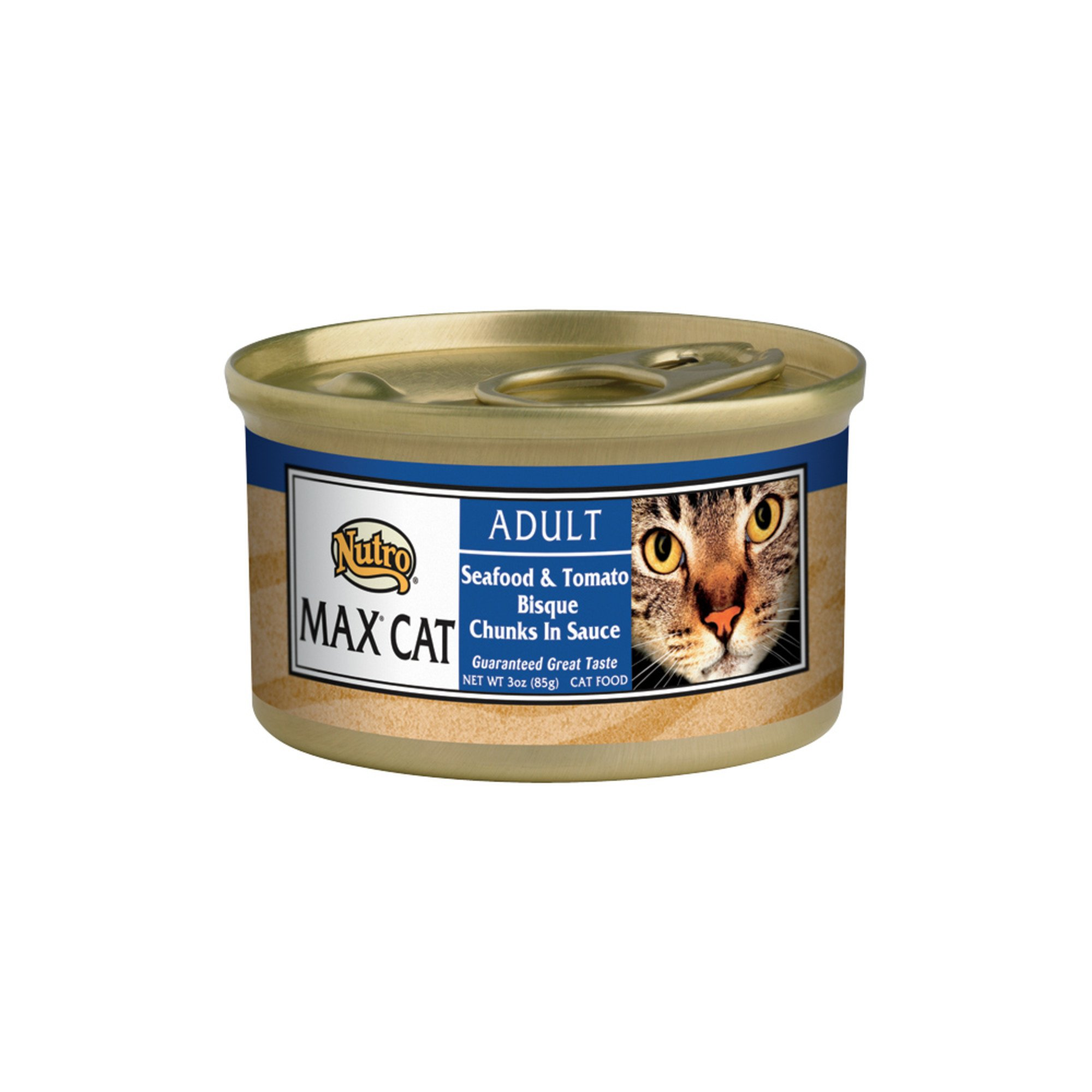 Nutro MAX CAT Gourmet Classics Adult Canned Cat Food, Seafood & Tomato Bisque