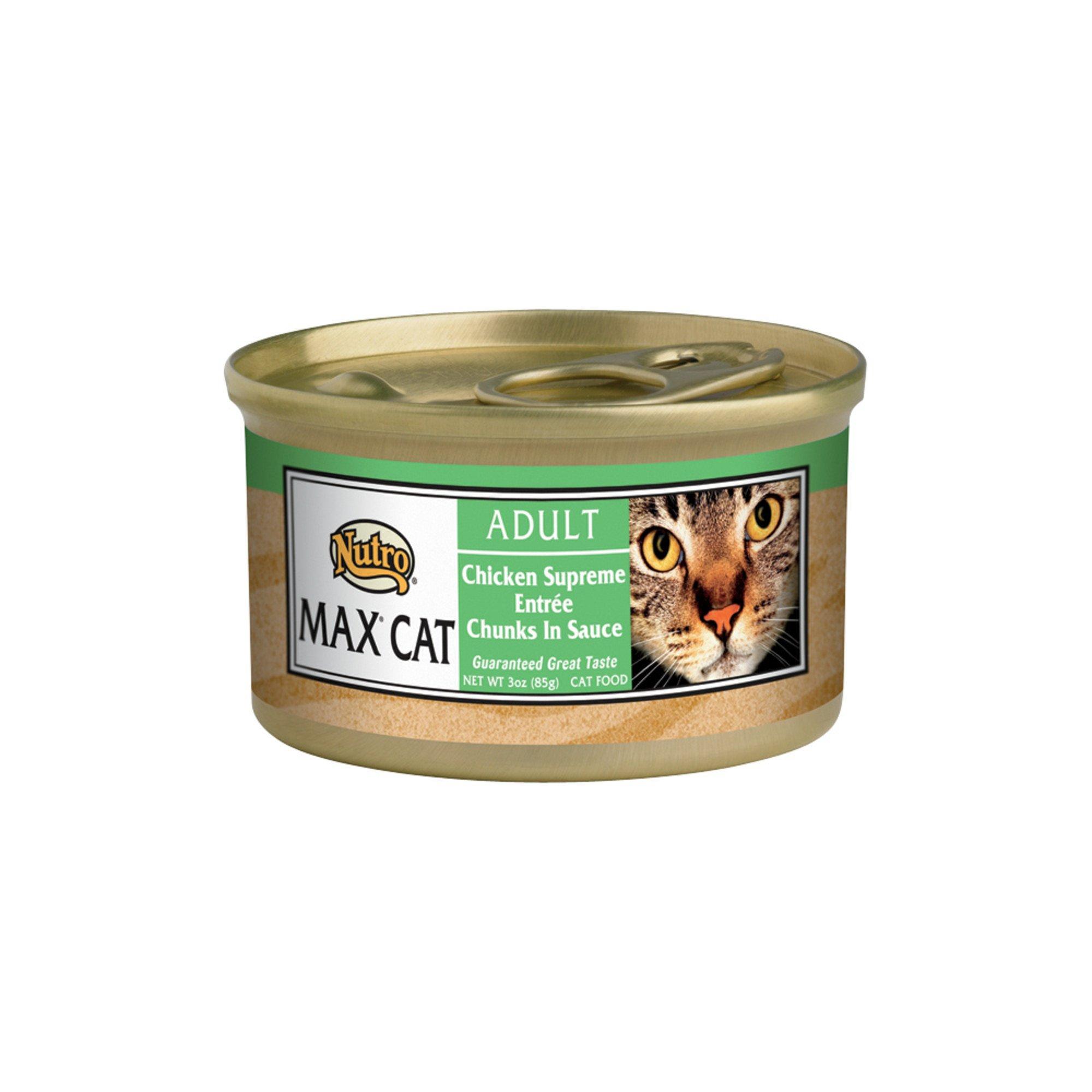 Nutro MAX CAT California Chicken Supreme Dinner Gourmet Classics Adult Cat Food