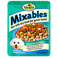 Mixables for Small to Medium Dogs Colorado Cookout