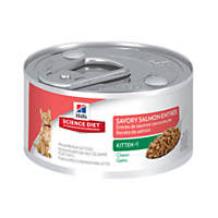 Hills Science Diet Kitten Savory Salmon Entree Canned Cat Food