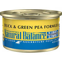 Natural Balance L.I.D. Duck & Green Pea Formula Canned Cat Food