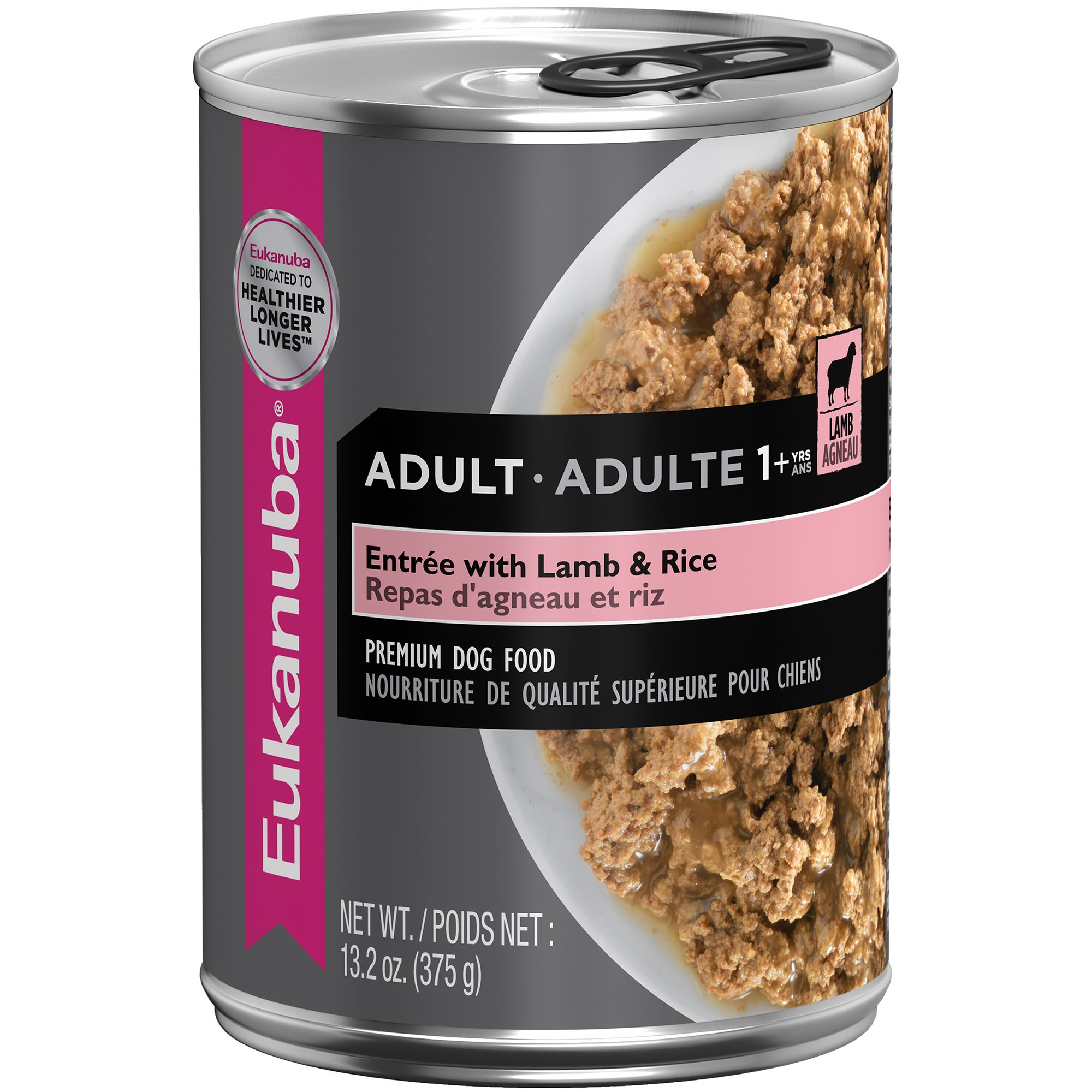 Eukanuba Ground Entree with Lamb & Rice Adult Canned Dog Food