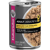 Eukanuba Ground Entree with Chicken & Rice Adult Canned Dog Food