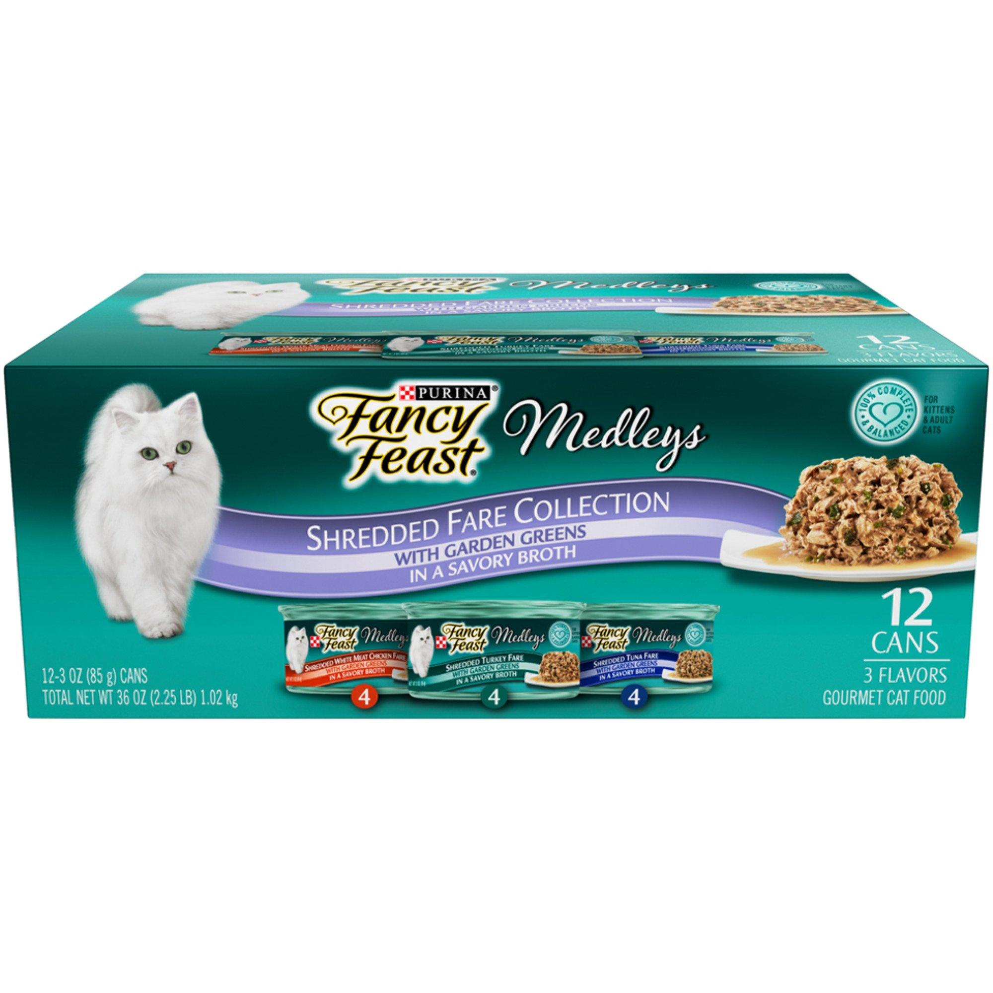 Fancy Feast Elegant Medleys Shredded Canned Cat Food