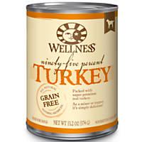 Wellness 95% Turkey Adult Canned Dog Food